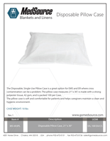 MS-003PL Disposable Pillow Case_Rev.1