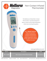 MS-131000 Infrared Thermometer_Rev. 1