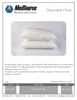 MS-40002 Disposable Pillow_Rev.1