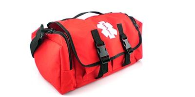 red cab bag