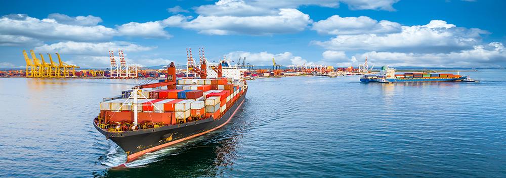 Container cargo shipping