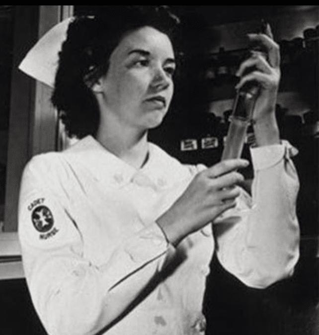 Letitia Geer- Patented medical syringe